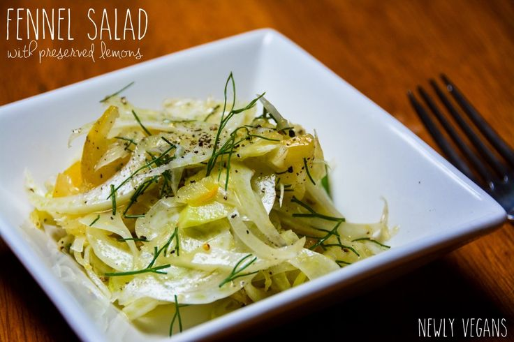 Fennel Salad With Preserved Meyer Lemons Recipes — Dishmaps
