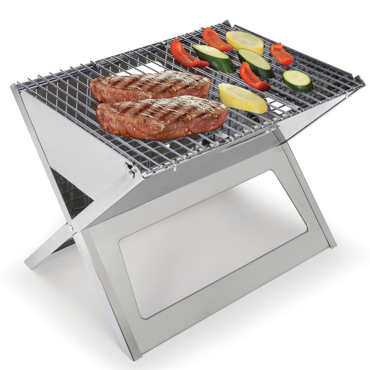 This is the grill that folds flat for unmatched portability.