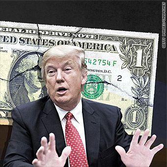 Trump breaks key rule for presidents: Don't talk down the dollar.