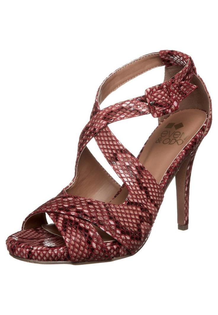 Even - Sandalen met hoge hak - Rood