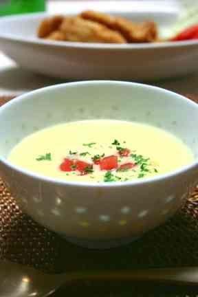 とうもろこしのスープ夏限定