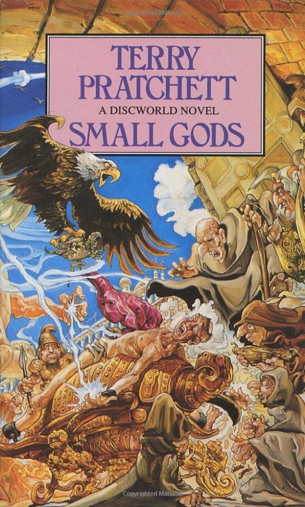 The 13th Discworld novel by Terry Pratchett    One of the first Terry Pratchett books I read