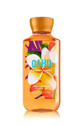 Oahu Coconut Sunset Shower Gel - Signature Collection - Bath & Body Works