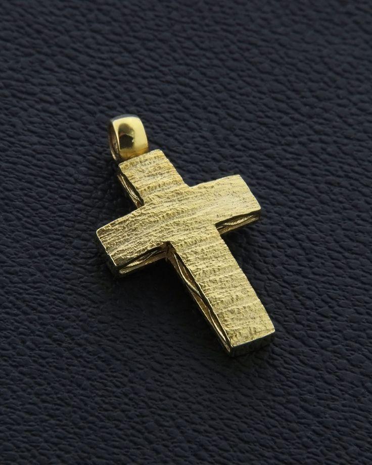 Σταυρός βάπτισης χρυσός Κ14 | eleftheriouonline.gr