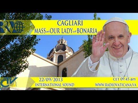 ▶ Eucharistic Celebration at the Shrine of Our Lady of Bonaria - YouTube -- #2, Sept. 22, 2013