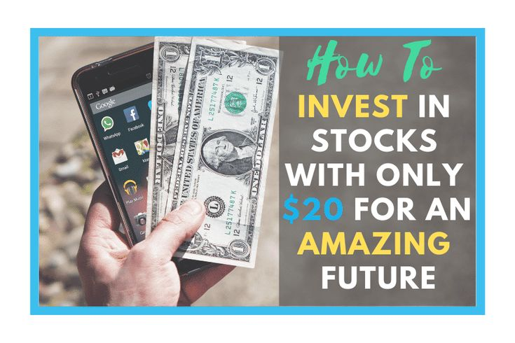 How to invest in stocks with only 20 for an amazing