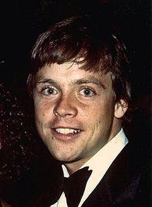 Mark Hamill - Amercian actor who played Luke Skywalker in the Star Wars trilogy