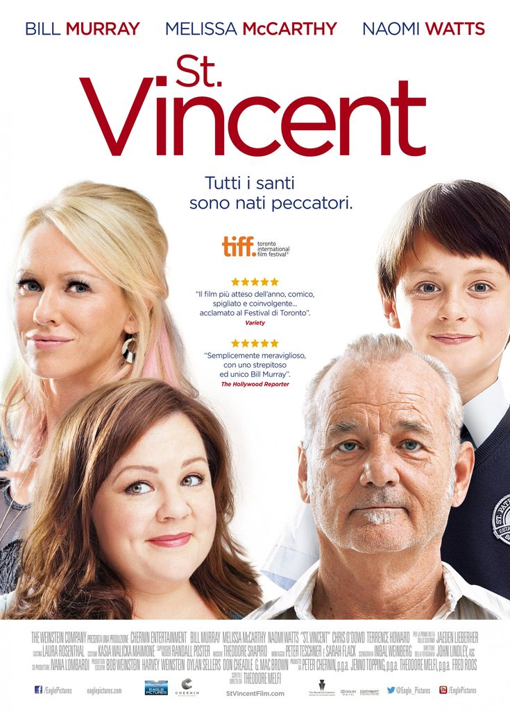 IMP Awards > 2014 > St. Vincent Movie Poster Gallery