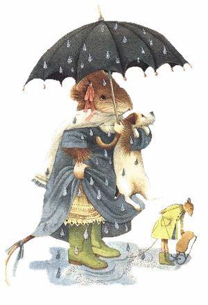Marjolein Bastin - Vera's very rainy day