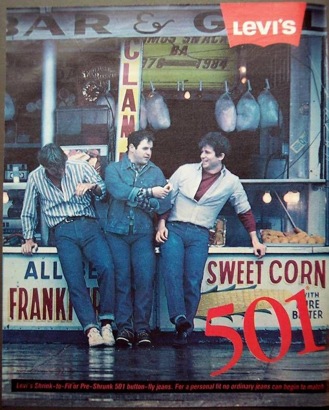 LEVI'S 501 Jeans for men. #vintage