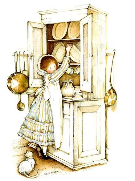 Holly Hobbie; I just bought this picture!