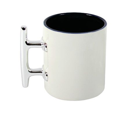 Found it at Wayfair - Latitude 38 16 Oz. Nautical Ceramic Plate Cleat Mug