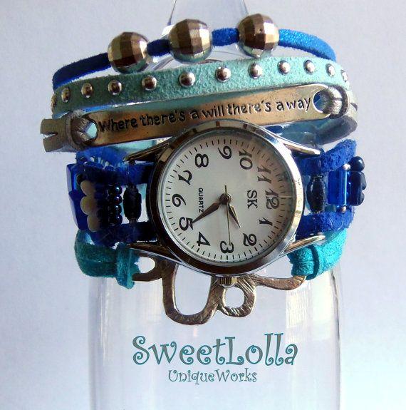 Wrist Watches With Handemade BraceletsWomen Watches  by SweetLolla