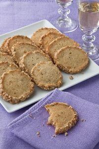 Barefoot Contessa - Recipes - Stilton & Walnut Crackers