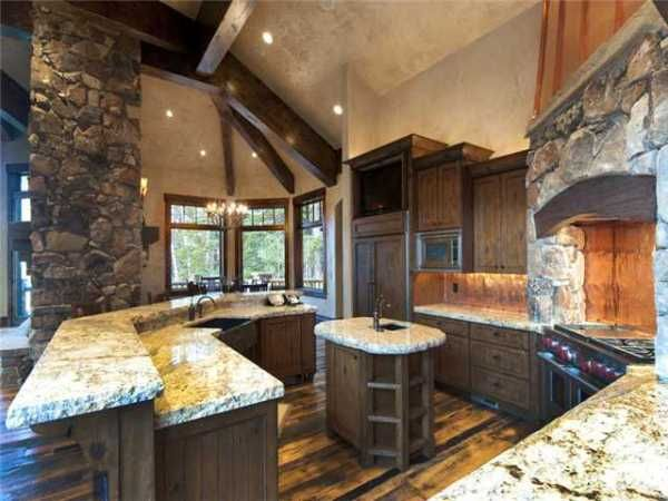 Improbable Kitchens Design With Rustic Components Part 74