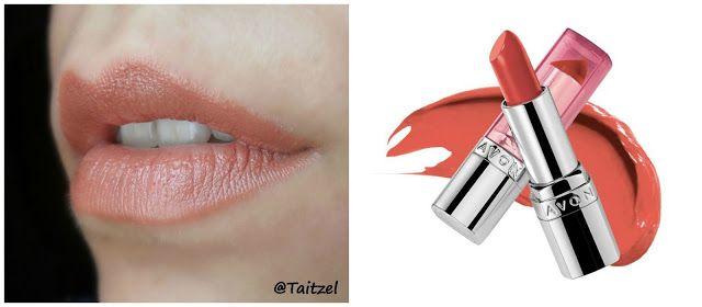 Avon Warm Honey lipstick