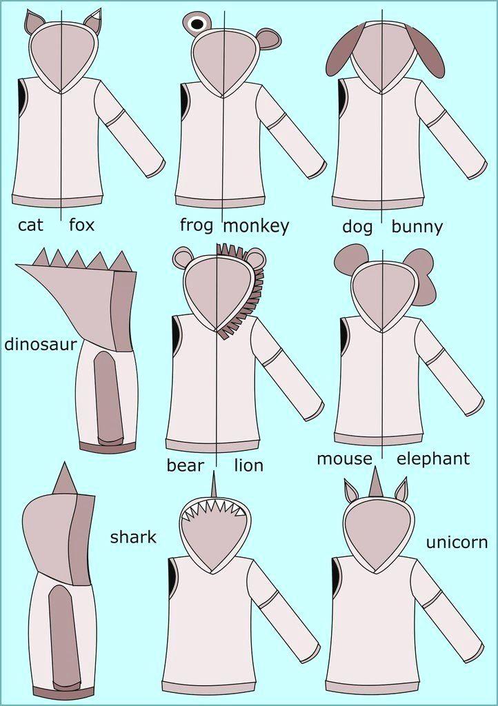 Cat Sweater Pattern Sewing : sweater, pattern, sewing, Dog_lover, Sewing, Hoodie, Pattern,, Sewing,, Projects, Beginners