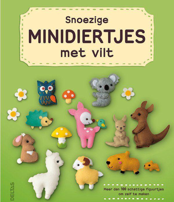 Snoezige Minidiertjes maken met vilt - Moodkids | Moodkids