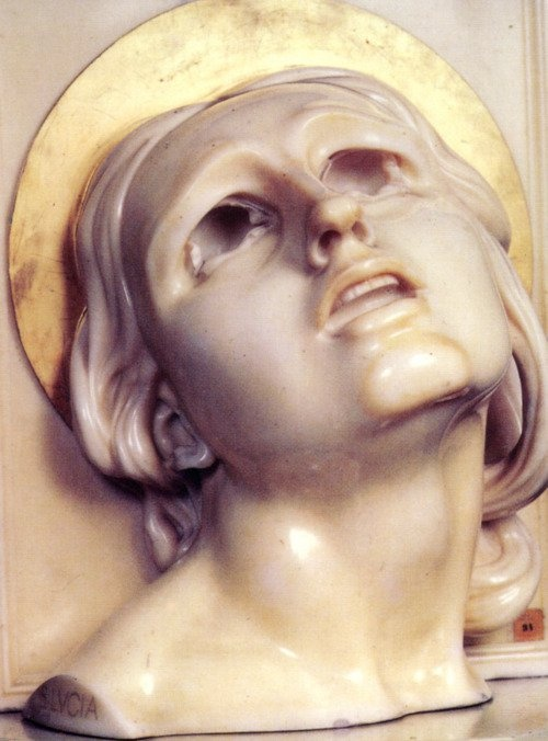 Adolfo Wildt - Santa Lucia - 1927- Forlì Museo del Risorgimento http://www.galleriaroma.it/Le%20Grandi%20Raccolte/Santa%20Lucia/Immagini/Widt.jpg (Thx Seulete)