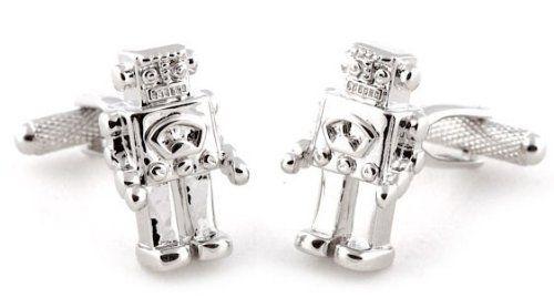 Robot Cufflinks Cuff-Daddy. Save 51 Off!. $33.99
