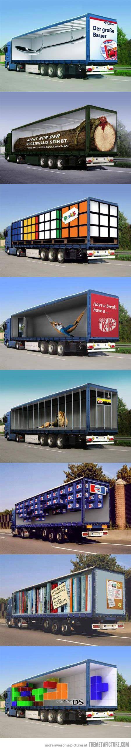 Original truck advertisements…