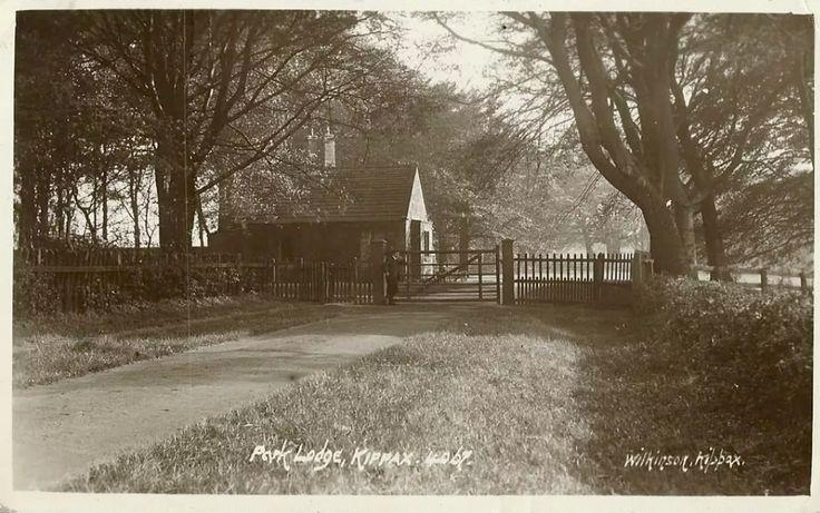 1912 postcard-Park Lodge, Kippax