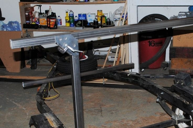 """Only a few weeks to wait, the first batch of the New No Weld Trailer Rack Towers is in the queue and expected to be done around 10/17.  Like with Thule racks, you will need crossbars to go with your towers. The towers were designed to use the same 1.5"""" square tubing as No Weld Racks for crossbars. This keeps the crossbars budget friendly at under $40."""