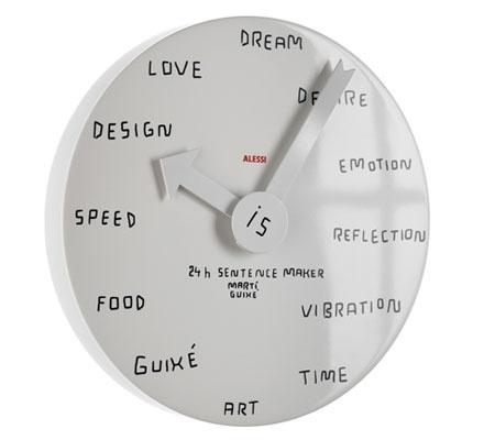 alessi clock