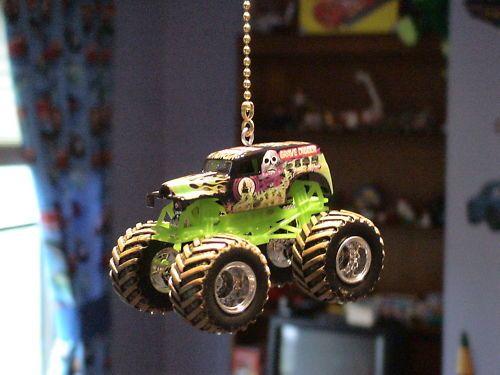 Hot Wheels Monster Jam Truck Custom Diecast Fan Pulls