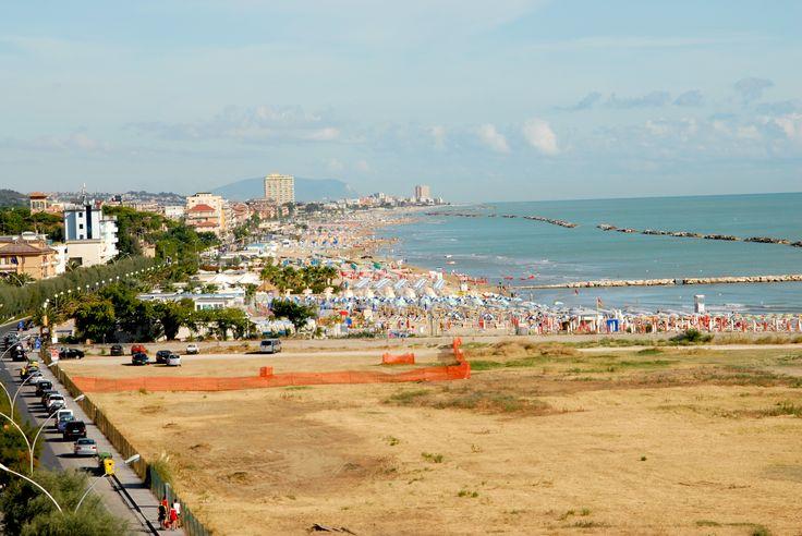 Panoramica della marina di Porto S. Giorgio. #marcafermana #portosangiorgio #fermo #marche