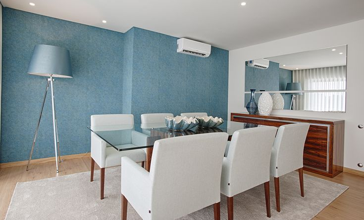 VILA NOVA DE GAIA APARTMENT - Laskasas |   Discover Laskasas interior design project in Gaia, Portugal and discover the best place to find the finest furniture solutions for your dining room decor is at www.laskasas.com from contemporary design to nordic style