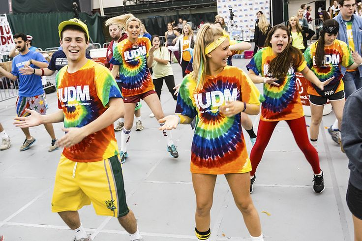 """Indiana University students participating in this year's IU Dance Marathon raised more than $3.2 Million """"for the kids"""" at Riley Hospital for Children, breaking all previous records! Go Hoosiers!"""
