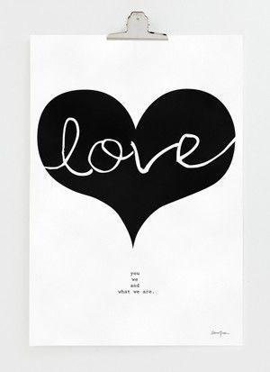 Big Love 30x40 cm