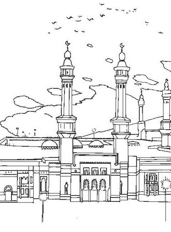 Isra Miraj 2012 Colouring Pages 021 Belajar Menggambar Belajar