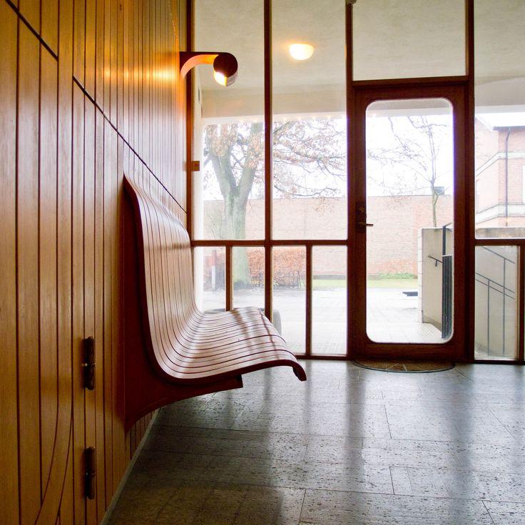 Medborgarhuset, Eslöv by Architect Hans Asplund (son of Gunnar) see Woodland Cemetry bench. photo by Anders Bengtsson on Flickr