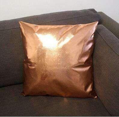 Pu Cushions Without Inner Postmodern Metallic Throw Pillows Soft Pu Leather Sofa Bedding Home Decor Cojines Almofadas