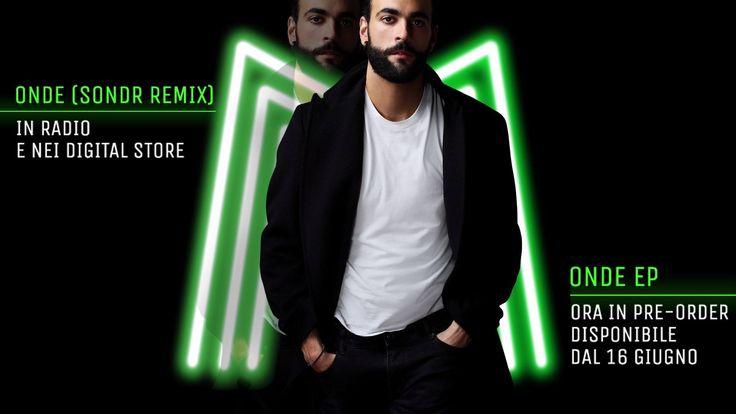 """Marco Mengoni Remix de sa chanson 'Onde"""", c'est nouveau et c'est pour VOUS !"""