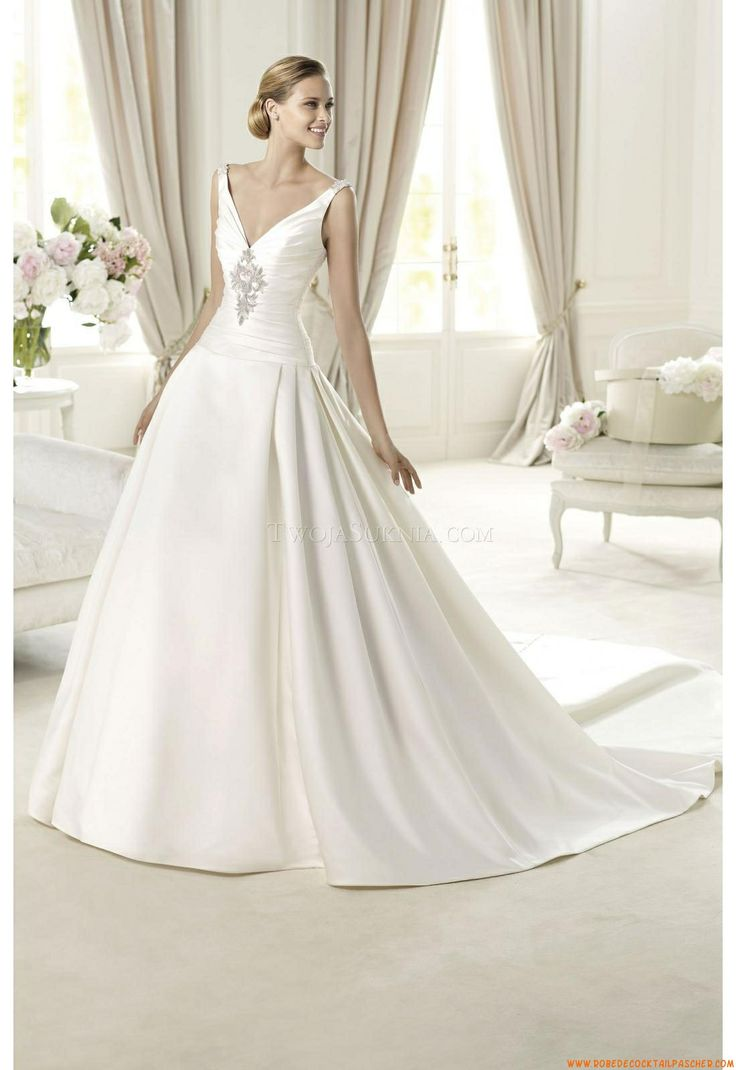 208 best chiffon wedding dresses images on Pinterest | Wedding ...