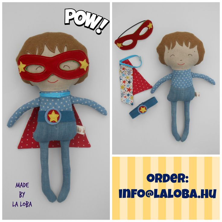 superhero doll, doll for boys, dress up doll, ragdoll for boys, softie for boys design: dollsanddaydreams