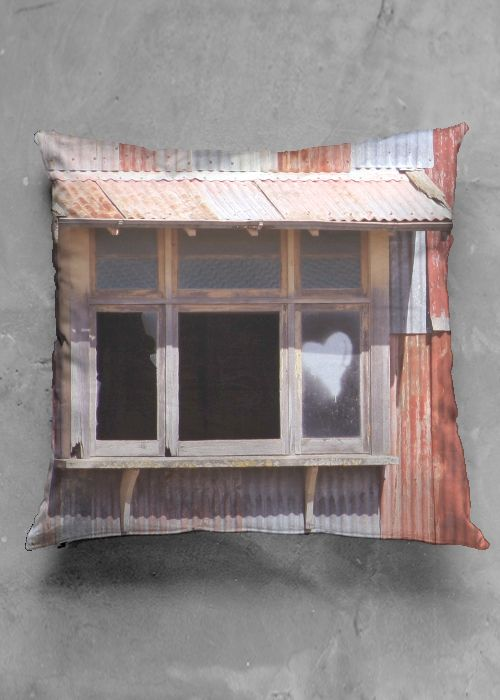 This Ole House - accent pillow in 100% cotton lustre fabric.
