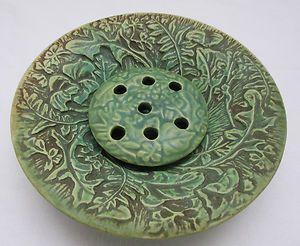 Weller pottery flower frog