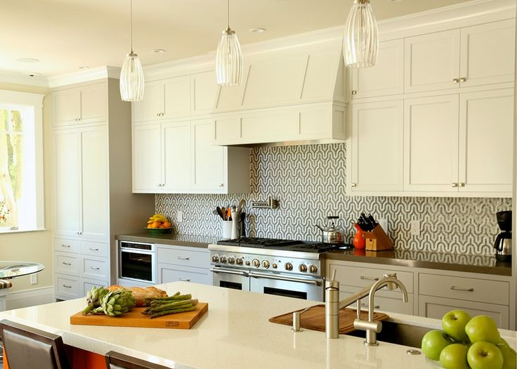 Lovely kitchen with lbl lighting