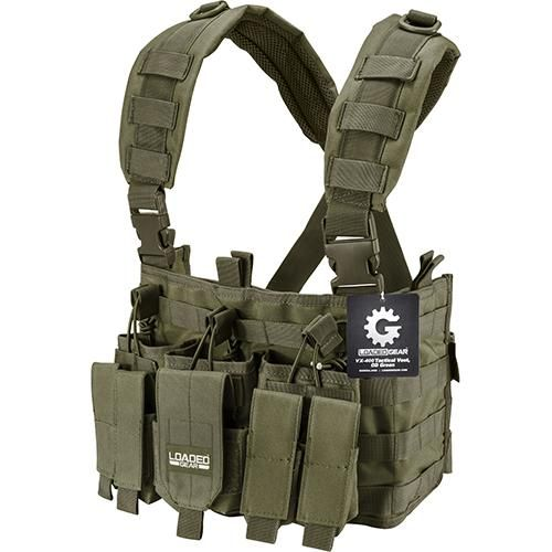 VX-400 Tactical Chest Rig, OD Green