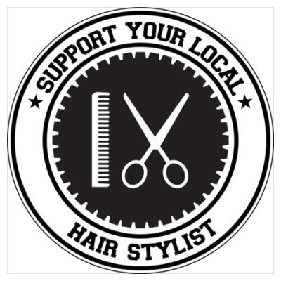 Support Hair Stylist Poster