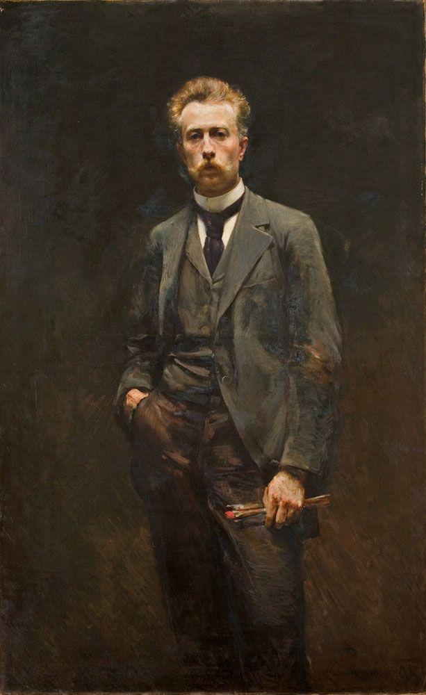 Aleksander Augustynowicz, Autoportret
