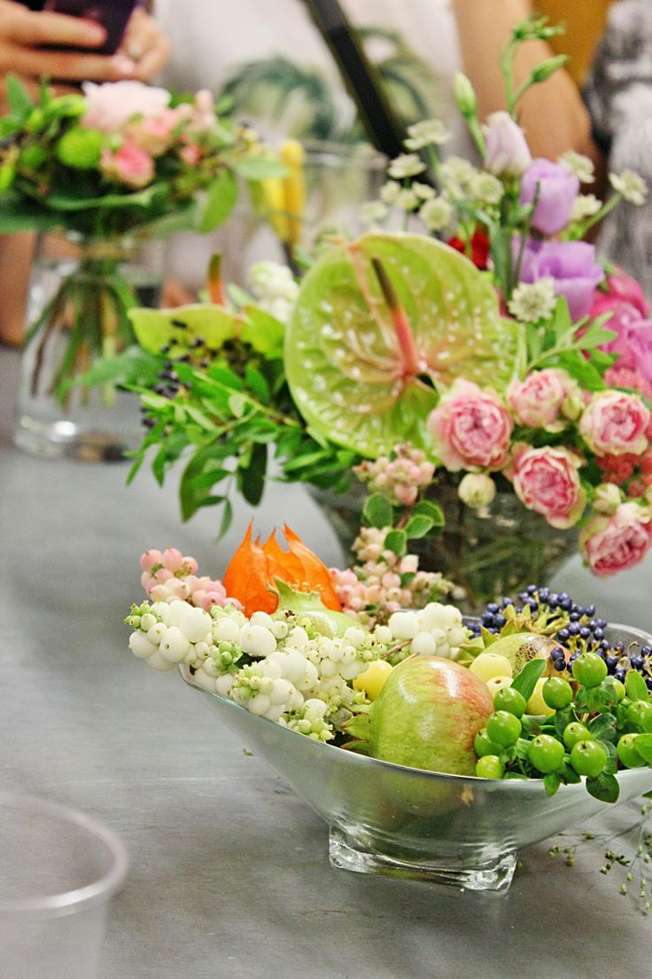 Srta. Moneypenny: taller de flores