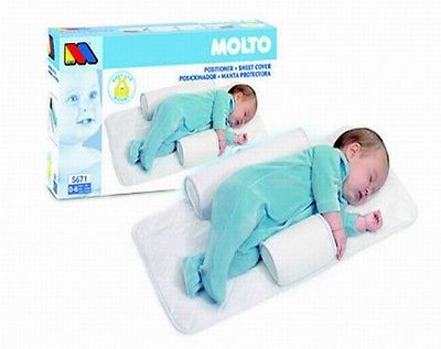 2016Top Quality Newborn Baby Sleep Positioner Infant Anti Roll Pillow With Sheet In