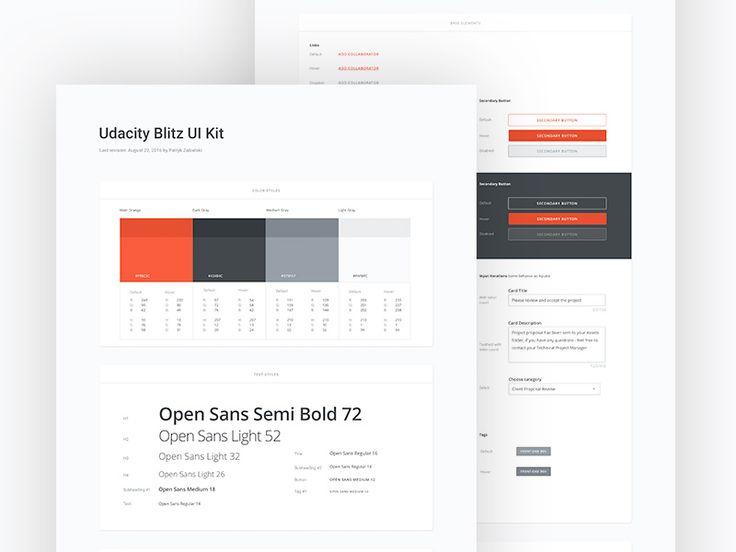 UB - UI Kit by Patryk Zabielski