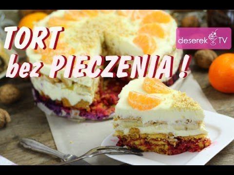 Tort bez pieczenia przepis od Deserek.TV