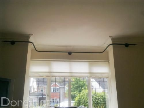 Curtain Rods 5 sided bay window curtain rods : 17 best ideas about Bay Window Curtain Poles on Pinterest ...